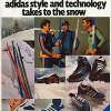 "adidas cross-country ski line ""adidas style and technology takes to the snow"""