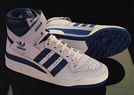 adidas Forum basketball shoes