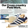 "adidas Norm 38 system and Suomi ski shoes ""Our Cross-country Field Work."""