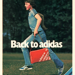 "adidas shoes, wears and bags ""Back to adidas"""