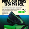 "Puma Elite Rider ""PUMA. OUR STORY IS ON THE BOX."""