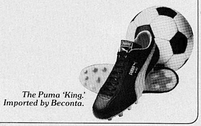 Puma King soccer shoes