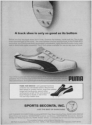 Puma #275 / #295 track shoes