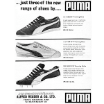 "Puma Crack / Top Fit / Mexico ""… just three of the new range of shoes by … puma"""