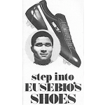 "Puma Jet soccer shoes ""step into EUSEBIO'S SHOES"""