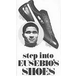 """Puma Jet soccer shoes """"step into EUSEBIO'S SHOES"""""""