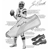 "Puma Joe Namath football shoes ""These eight reasons add up to the one reason I use Pumas"""