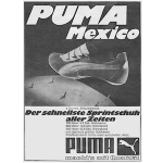 "Puma Sacramento track shoes ""PUMA Mexico"""