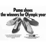 "Puma Oslo & track shoes ""Puma shoes the winners for Olympic year"""