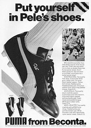 Puma Soccer shoes for Pele
