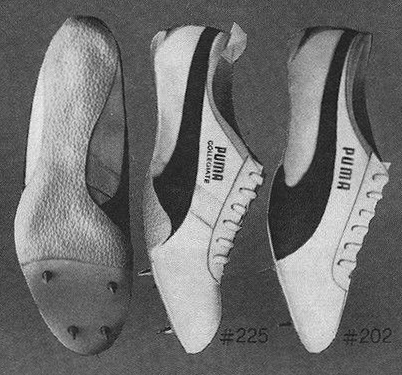 Puma, makes the shoe for runners who make the records.