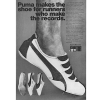 "Puma TS #200 / #225 / #202 track shoes ""Puma, makes the shoe for runners who make the records."""