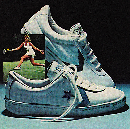 Converse Chris Evert tennis shoes