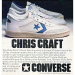 "converse Chris Evert Classic tennis shoes ""Chris Craft"""