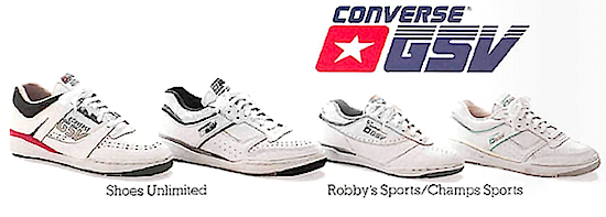 Converse GSV series Jimmy Connors tennis shoes