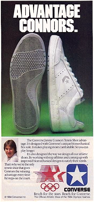 Converse Jimmy Connors tennis shoes