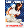 "Converse Jimmy Connors tennis shoes ""The choice of the stars"""