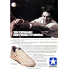 "Converse Jimmy Connors Commodore tennis shoes ""This Performance made possible by converse."""