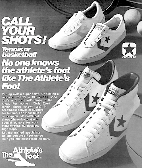 Converse tennis shoes & basketball shoes