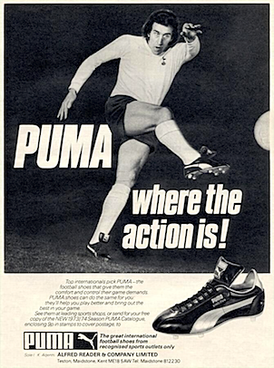 Puma King Pele soccer shoes