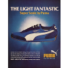 "Puma Super Sonic running shoes ""The Light Fantastic"""