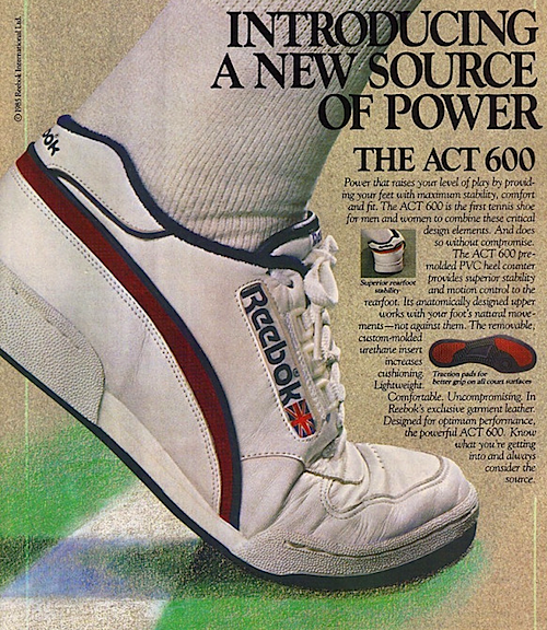Reebok ACT 600 tennis shoes