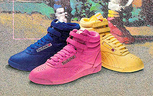 Reebok Freestyle Hi-Top / Ex-O-Fit Hi-Top