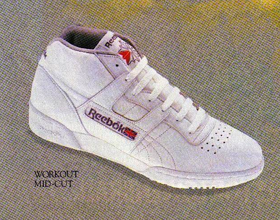 Reebok Workout Mid-Cut