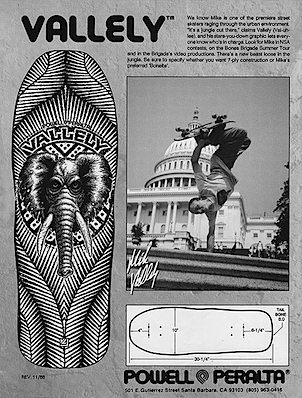 Mike Vallely Powell Peralta