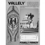 "Powell Peralta Skateboard Deck ""Vallely"""