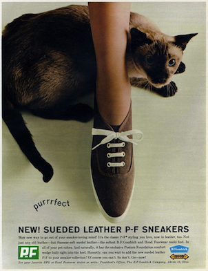 SUEDED LEATHER P-F SNEAKERS