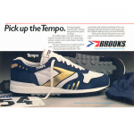 "Brooks Tempo running shoes ""Pick up the Tempo"""
