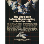 "JCPenney shoes ""The shoe built to take this pounding mile after mile."""
