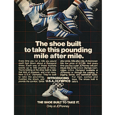 """563b5570083bcc JCPenney shoes """"The shoe built to take this pounding mile after mile ..."""