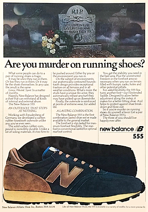 new balance 555 running shoes