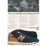 "new balance 555 running shoes ""Are you murder on running shoes?"""