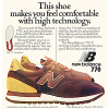 "new balance 770 running shoes ""This shoe makes you feel comfortable with high technology"""