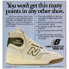 "new balance 991 basketball shoes ""You won't get this many points in any other shoe."""
