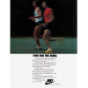 "NIKE LDV & Elite running shoes ""TWO FOR THE ROAD."""