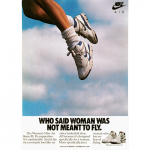 "Nike Women's Air Force III ""WHO SAID WOMAN WAS NOT MEANT TO FLY."""