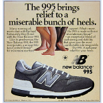 "new balance 995 running shoes ""The 995 brings relief to a miserable bunch of heels."""