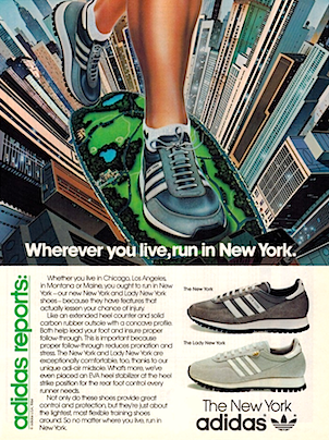 adidas New York/ Lady New York running shoes