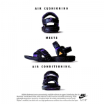 "Nike Air Deschütz ""Air cushioning meets Air conditioning."""