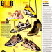 "Nike Air Sunder Max, Adidas Equipment Gazelle, Converse ECO Lo, Nike Air Flight posite, Fila Ancerus TR, Puma Cell Lhotse ""sneak peek: Vibe August 1999"""