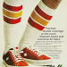 "Converse One Star suede / Wigwam socks ""The best double coverage on the court. Wigwam Socks and Converse All Stars."""