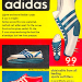 """adidas 9,9 track shoes """"the fastest shoe in the world"""""""